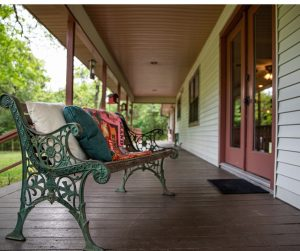Wrap Around Porch on Country Home